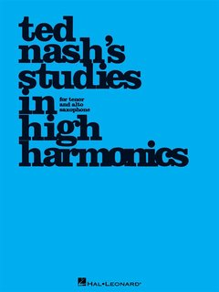 Ted Nashs Studies in High Harmonics