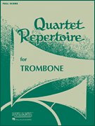 Quartet Repertoire for Trombone - 3. Posaune (opt. Euphonium)