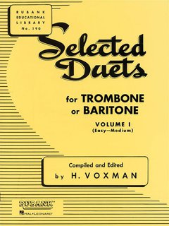 Selected Duets for Trombone or Euphonium - Volume 1