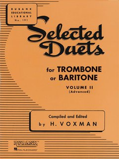 Selected Duets for Trombone or Euphonium - Volume 2