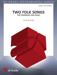 Two Folk Songs for Trombone and Piano