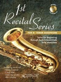 1st Recital Series for Bb Tenor Saxophone