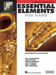 Essential Elements 2000 - Book 2 - Bb Tenor Saxophone