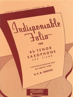 Indispensable Folio - Tenor Saxophone and Piano