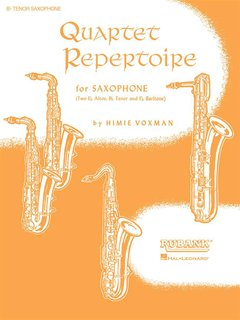 Quartet Repertoire for Saxophon - Tenorsaxophon
