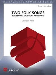Two Folk Songs for Tenor Saxophone and Piano