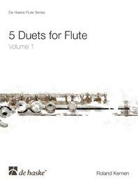 5 Duets for Flute Volume 1
