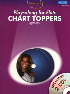 Chart Toppers - Play-Along for Flute