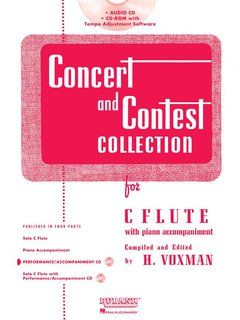 Concert and Contest Collection for Flute - CD