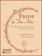 Six Trios for Three Flutes, Op. 83 - Full Score