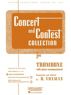 Concert and Contest Collection for Trombone - Piano Accompaniment