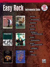 Easy Rock Instrumental Solos, Level 1 - Trombone