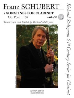 2 Sonatines for Clarinet, Op. post. 137