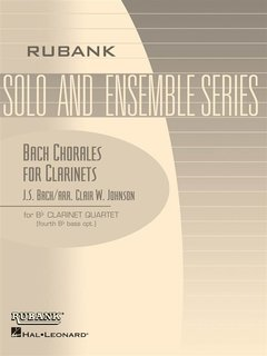 Bach Chorales for Clarinets
