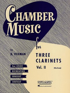 Chamber Music for Three Clarinets - Volume 2