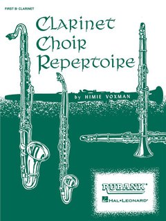 Clarinet Choir Repertoire - 1. Klarinette