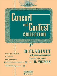 Concert and Contest Collection for Clarinet - CD