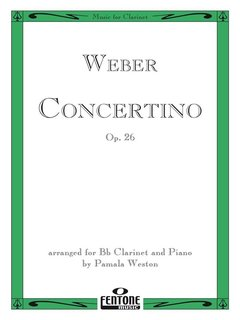 Concertino for Clarinet Op. 26