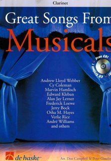 Great Songs from Musicals - Klarinette