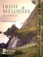 Irish Melodies for Clarinet