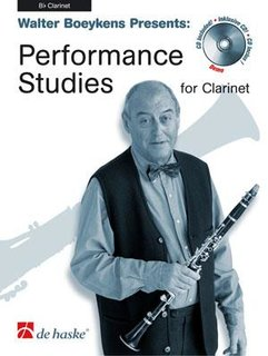 Performance Studies for Clarinet