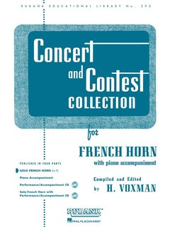 Concert and Contest Collection for Horn - Solo book