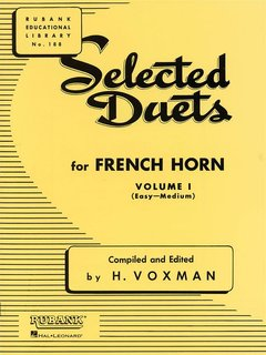 Selected Duets for French Horn - Volume I