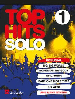 Top Hits Solo 1 - Altsaxophon