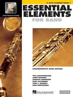 Essential Elements 2000 - Book 1 - Eb Alto Clarinet