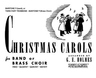 Christmas Carols for Band or Brass Choir - Baritone B.C. - Baritone B.C.