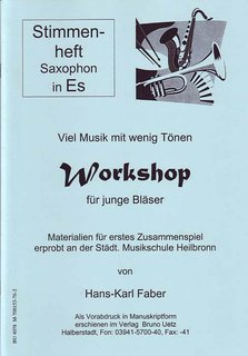 Workshop für Blasorchester - Altsaxofon in Es