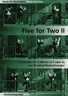 Five for Two Horns II - für 2 Hörner