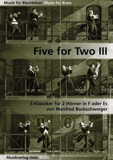 Five for Two Horns III - für 2 Hörner