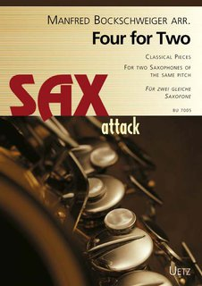 Four for Two Sax - für 2 Saxofone