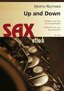 Up & Down, Altsax Duets - für 2 Saxofone