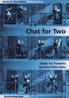 Chat for Two Trumpets - für 2 Trompeten