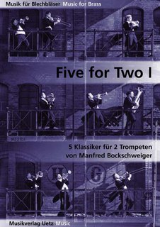Five for Two Band 1 - für 2 Trompeten