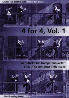 4 for 4, Band 1 - für 4 Trompeten in C