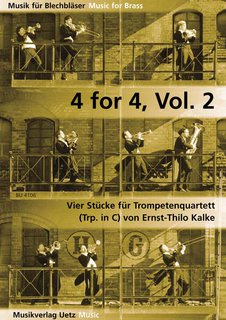 4 for 4, Band 2 - für 5 Trompeten in C