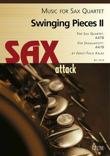 Swinging Pieces II - für Saxofon Quartett