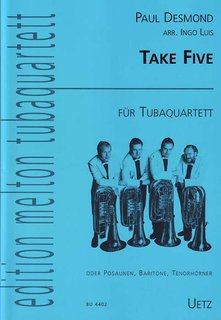 Take Five - für Tubaquartett