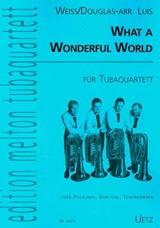 Wonderful World - für Tubaquartett
