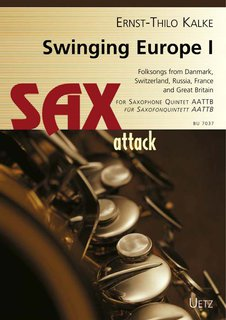 Swinging Europe - für Saxofon Quintett