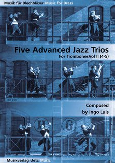 5 Advanced Jazz Trios Band 2 - für 3 Posaunen