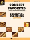 Concert Favorites Vol. 1 - Bariton - Euphonium (TC) -...