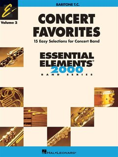 Concert Favorites Vol. 2 - Bariton - Euphonium (TC) - Bariton/Eufonium
