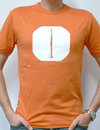 T-Shirt - Klarinette orange L