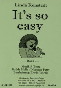 Its so easy - Linda Ronstadt