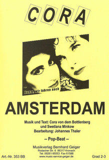Amsterdam Cora Noten Unterhaltungsmusik Arr Johannes Thaler