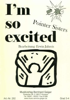 Im so excited - Pointer Sisters
